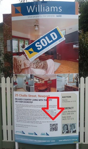 Use a QR Code to get your home sold - Social Property Selling