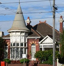 edwardian home in  albert park