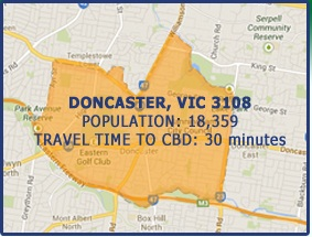 Post image for Doncaster Victoria Suburb Profile