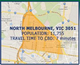 Post image for North Melbourne Victoria Suburb Profile