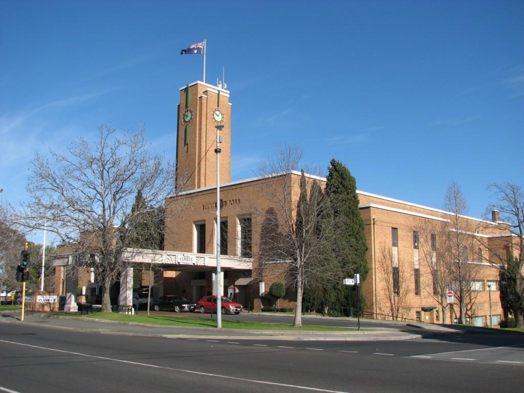 Ivanhoe town hall
