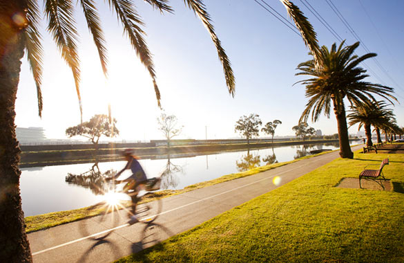 Maribyrnong River trail