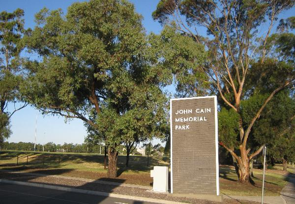 John Cain Memorial Park Thornbury