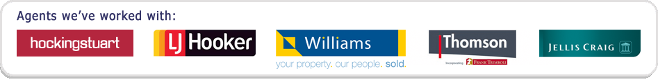 Social Property Selling has worked with manu agencies, including Hockingstuart, LJ Hooker, Williams, Thomson and Jellis Craig